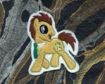 Doctor Whooves Embroidered Patch by GothyBeans