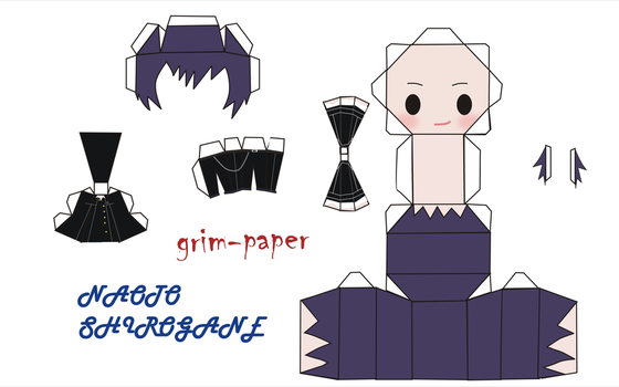 naoto pattern by Grim-paper