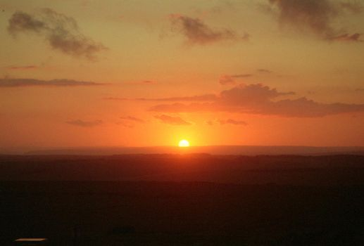 Beachy Head sunset by the-boggyb