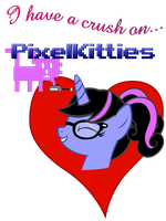I heart Pixelkitties by Stinkehund