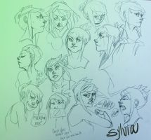 Sylvia expressions by feels-with-fingers