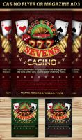Casino Magazine Ads or flyers Templates 4 by Hotpindesigns