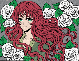 Seventh DColor - Lady of Roses V4 Irish by LordNobleheart