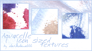 Aquarelle icon textures 01 by darkdana666