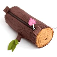 Log Pencil Pouch by hitree