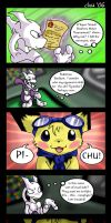 SSBM - Mewtwo Meets His Match by raizy