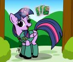 Twilight Sparkle Filly Scout by the-gneech
