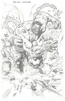 Red Hulk Unchained by Reybronx