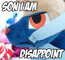 Disappointed Samurott by Fishlover