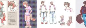 Konnor: Throughout the Years by roxas-kitax