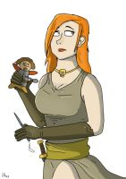 Astrid the Rogue by SnipperWorm