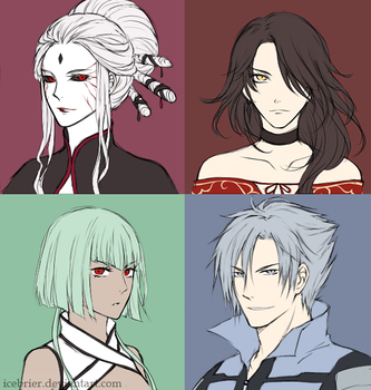 The villains by IceBrier