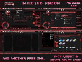 : : Injected Razor : : by Mr-Blade