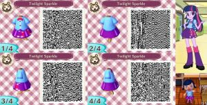 Animal Crossing: New Leaf QR - Twilight Sparkle by MysteryMoonbeam