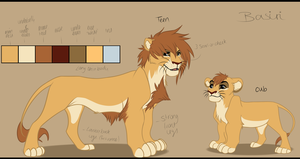 Basiri Ref Sheet by Tamnyan