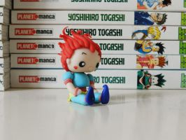 Hisoka - HunterxHunter (Fimo) by NekoIsy
