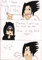 Sasuke vs Itachi Page 1 by 12bubbles12