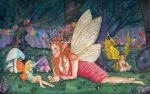Queen Titania and her Pupils by Azalane