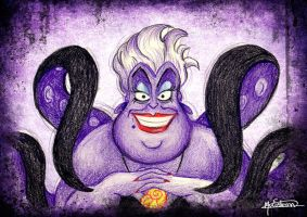 Ursula - Little Mermaid by Man0uk
