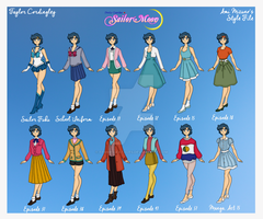 Sailor Mercury - Ami Mizuno Style File by Femmes-Fatales