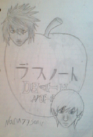 DEAtH NOtE draw title by Naru77Sonic