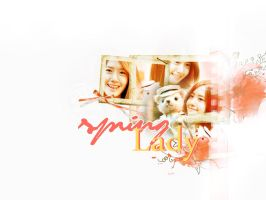 spring lady by m3imei