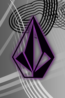 Prple1 Volcom iPhone Wallpaper by andykling