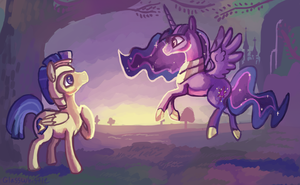 A Meeting by Twilight by Glasswhistle