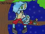 (Old Drawing) 02-An night in the tree by CodyTheZoroark