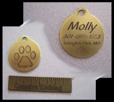 So now I make dog tags by creativeetching