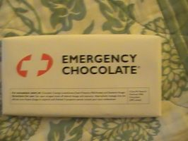 my emergency chocolate by Shadylexi24