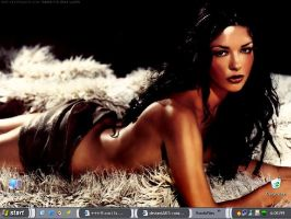 My Zeta-Jones Desktop by romilsworld