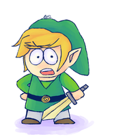 Link doodle. by DaRainbowGurl