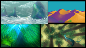 Landscape Studies by applepie232