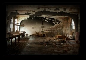 Old factory floor by LaVieAChoisi