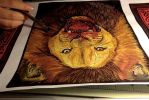 .lion feast. by CheshireSmile