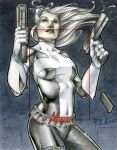 Silver Sable Marvel's Greatest Heroes AP by RichardCox