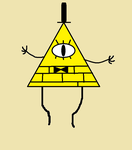 MS Paint Bill Cipher by yoshi12345786