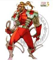 Omega Red - Marvel vs Capcom 3 by AverageSam