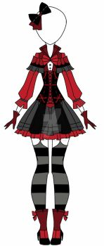 Victorian Outfit Adoptable clossed by AS-Adoptables