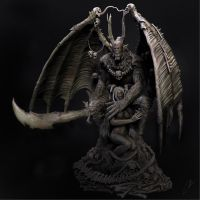 CGHub's Demon render by Tioxic