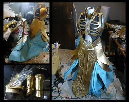 WIP Battle of immortal Heretic costume by carlosdouglas