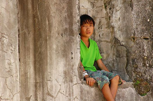 boy in green by yellowminded