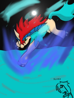 Keldeo by Lovelessdeception