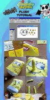 SpongeBob Plush tutorial by nitanita