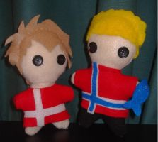 Denmark and Norway : SatW by Max-Gundam