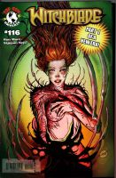 witchblade color by munkierevolution