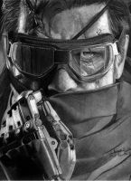 Venom Snake METAL GEAR SOLID V: THE PHANTOM PAIN by j2ag