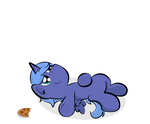 To give a Moon Pony a Cookie by Moonlightfan