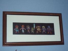 Chrono trigger cross stitch by micadjems